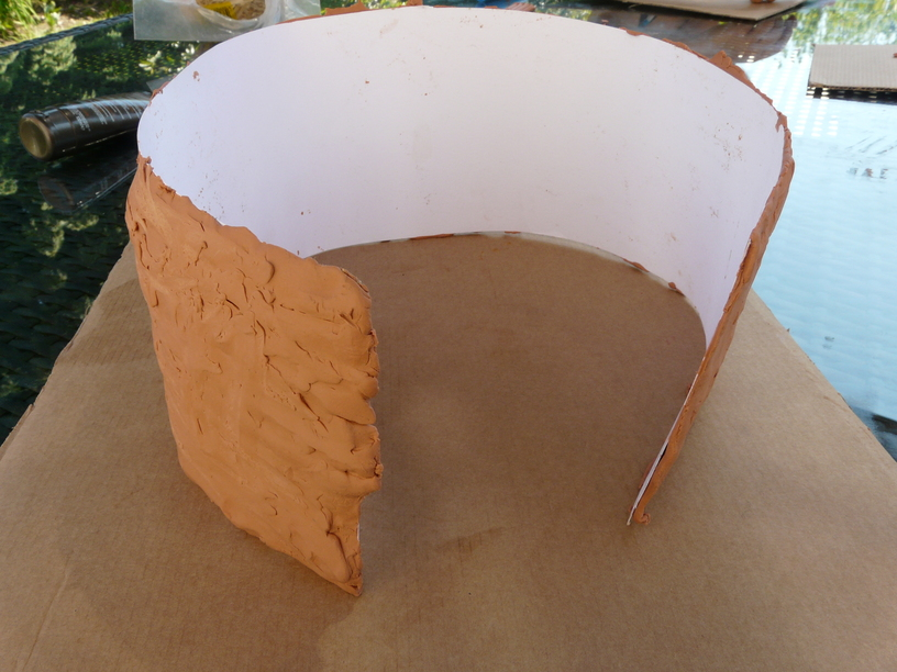 How to Make a Model Celtic Roundhouse - Navigating By Joy