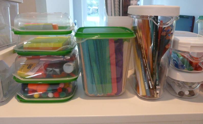 How to organize homeschool resources at navigatingbyjoy homeschool blog