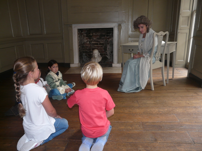 field trip to benjamin franklin house at navigating by joy homeschool blog