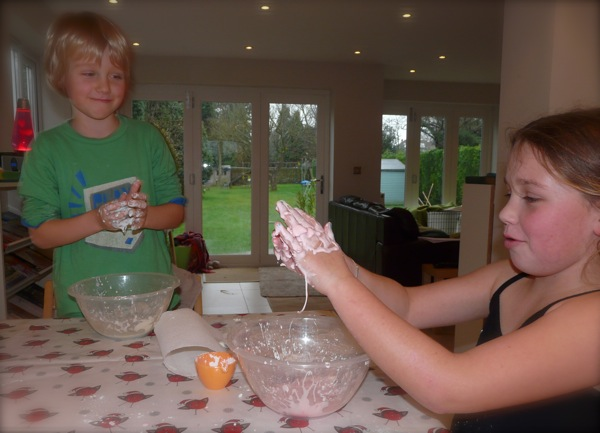 Home Made Slime - Homeschool Science