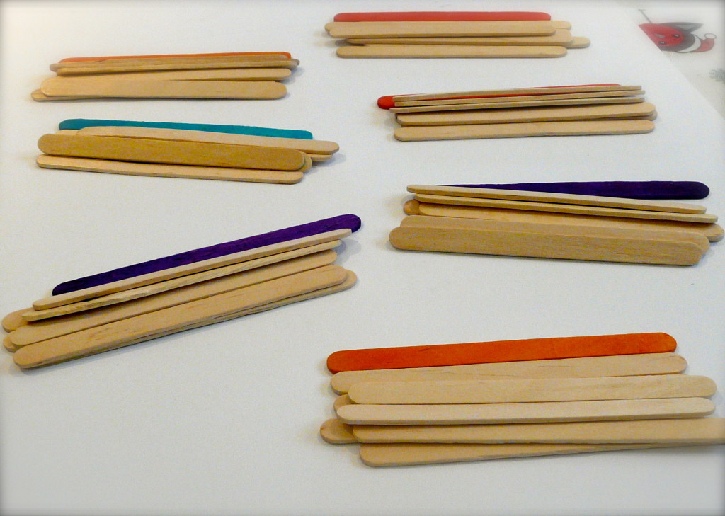 Popsicle Stick Fractions Made Easy