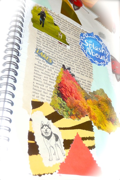 art journalling - theme images
