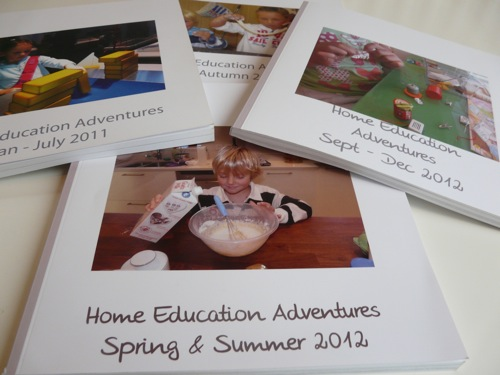 Homeschooling Photo Journals