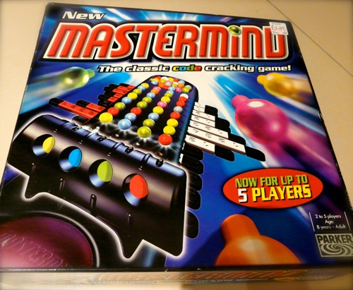 logic game for kids - mastermind