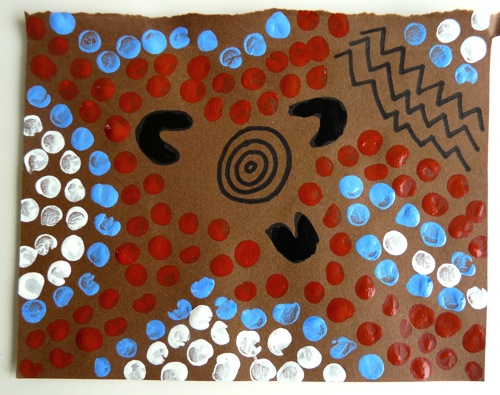 Aboriginal Dot Painting For Kids