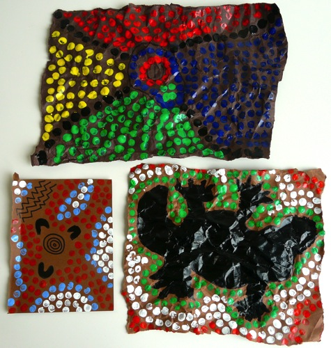 Aboriginal Dot Painting For Kids Navigating By Joy