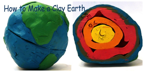 How to make a clay earth