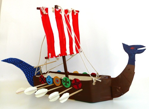 model viking longboat for kids