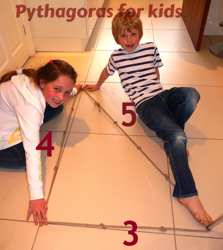 Pythagoras for kids