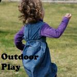 homeschool pond study at outdoor play
