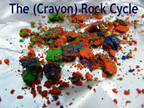 The crayon rock cycle