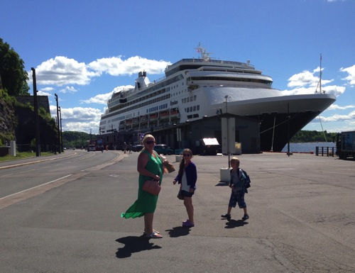 Cruising Norway with kids