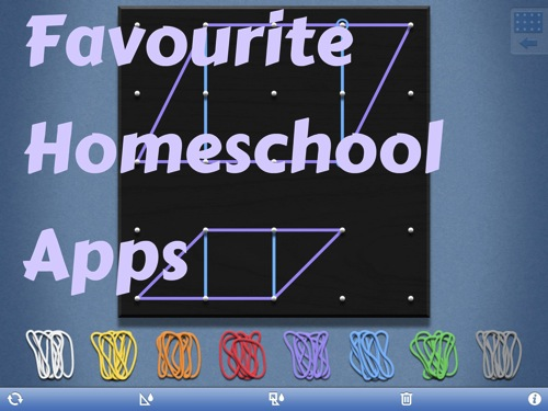 favourite homeschool apps