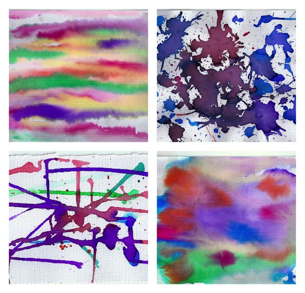 Liquid watercolour fun for kids