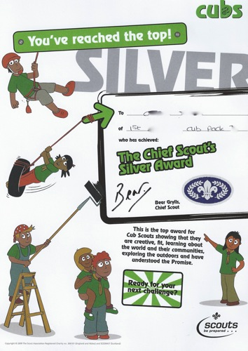 homeschool mothers journal cub scout silver award
