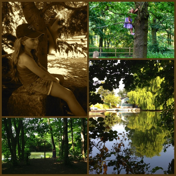 River days collage