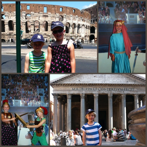 Visiting Rome  homeschool history curriculum jpt