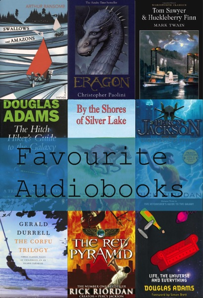 Favourite audiobooks