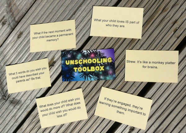 unschooling toolbox