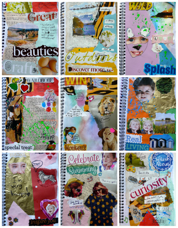 art journaling for boys