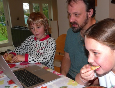 dad's role in our homeschool
