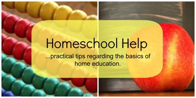 Homeschool help  1