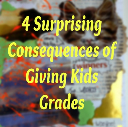 Consequences of giving kids grades