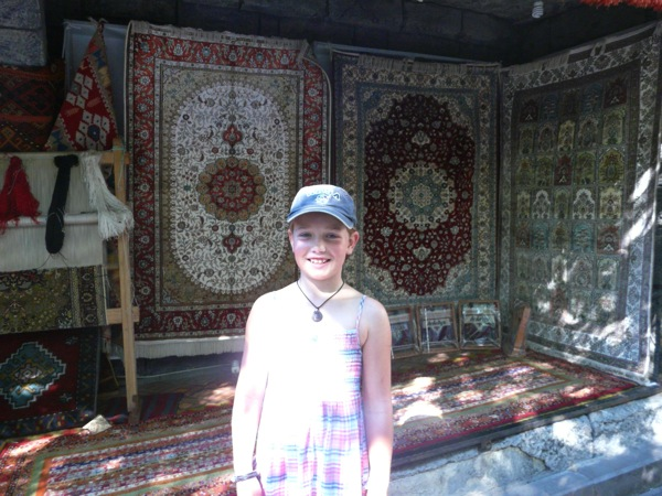 design your own Turkish rug