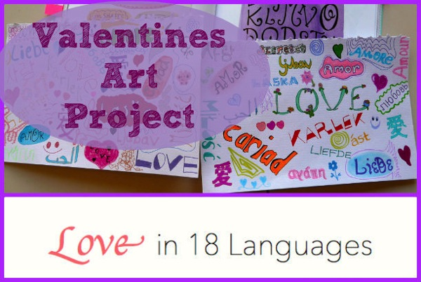 Love valentines project