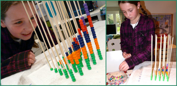 Bead multiplication tower