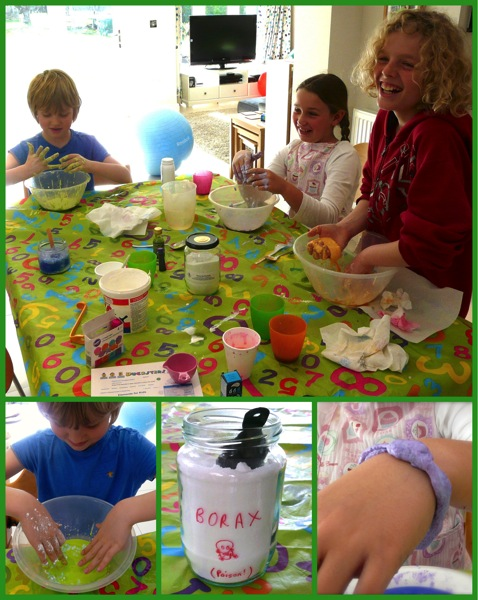 Unschooling science - making slime