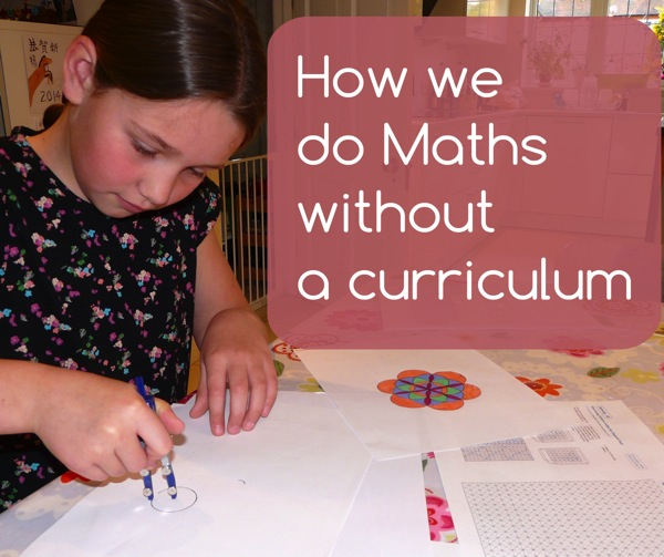 how we do maths without a curriculum