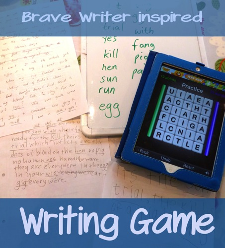 Writing game