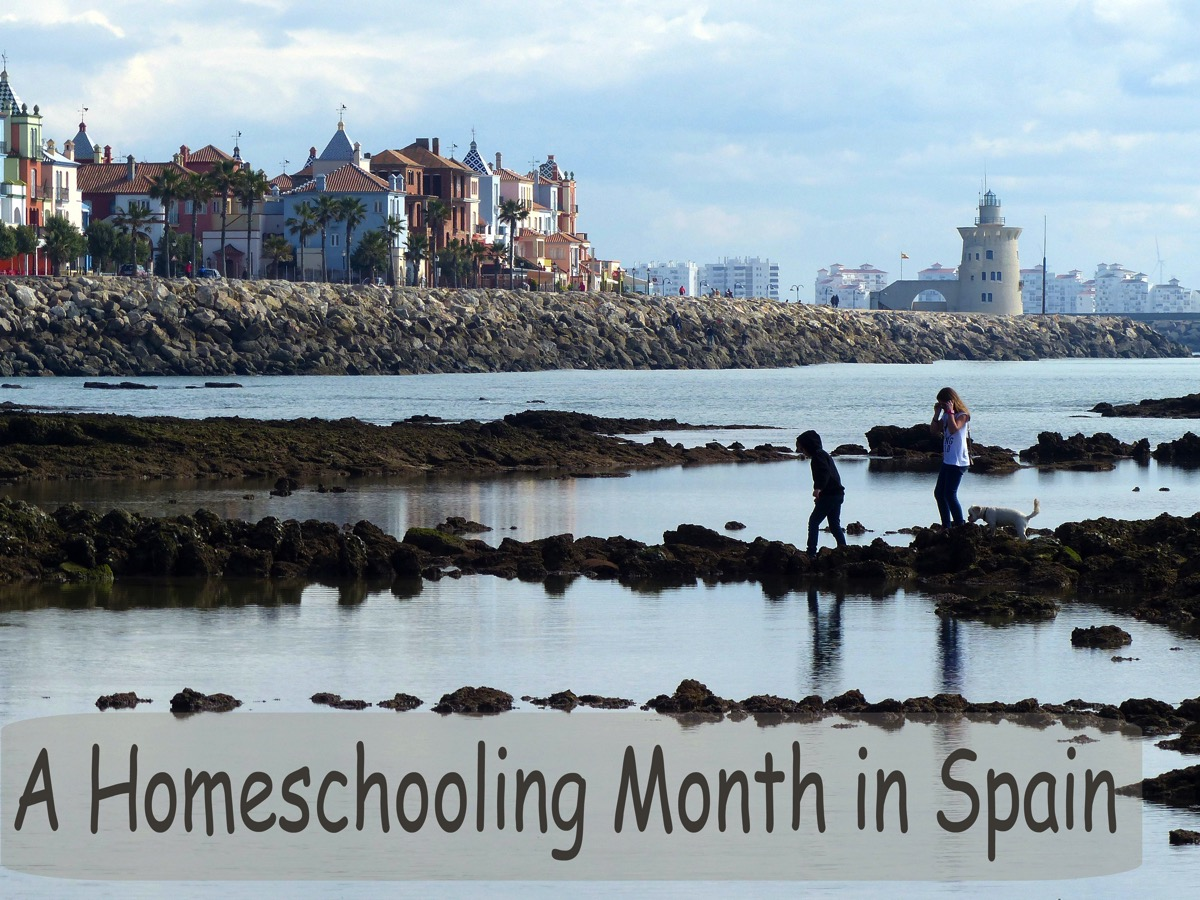A homeschooling month in Spain