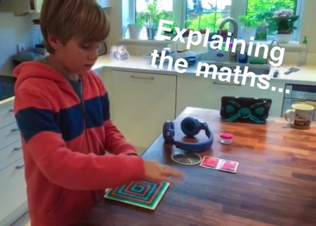 Unschooling on Snapchat - Hama Bead maths